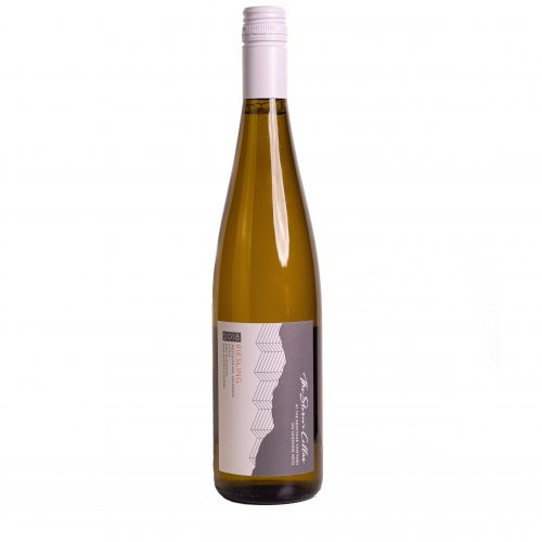 A bottle of The Storm Cellar 2018 Riesling. Click for more details on this white wine.