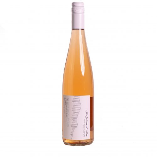 A bottle of The Storm Cellar 2018 Rosé of Pinot Gris. Click for more details on this rosé wine.